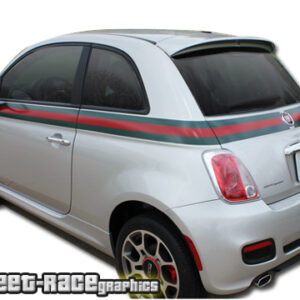 Fiat 500 GUCCI stickers