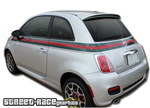 Fiat 500 GUCCI stickers