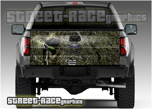 4x4 Truck tailgate wraps