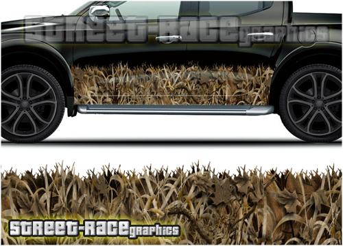 Side rocker panel - camouflage