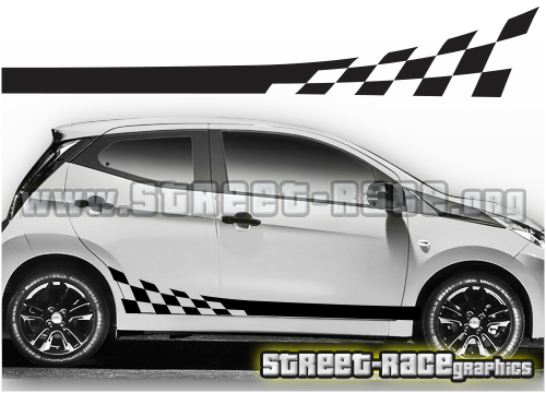 Toyota Aygo side graphics