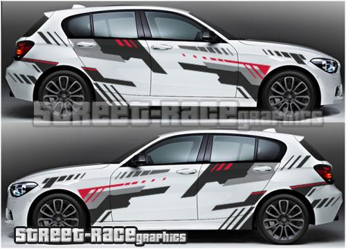 BMW racing and rally graphics