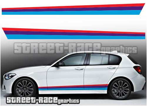 BWW side racing stripes