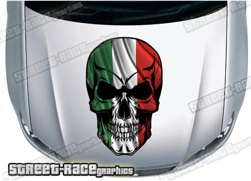 Bonnet Skulls - Full colour prints