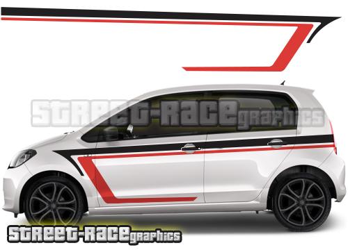 Skoda Citigo graphics / racing stripes