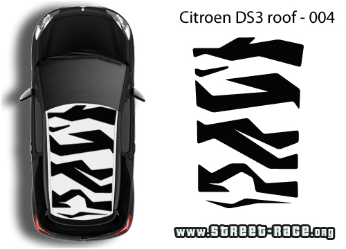 DS3 roof graphics