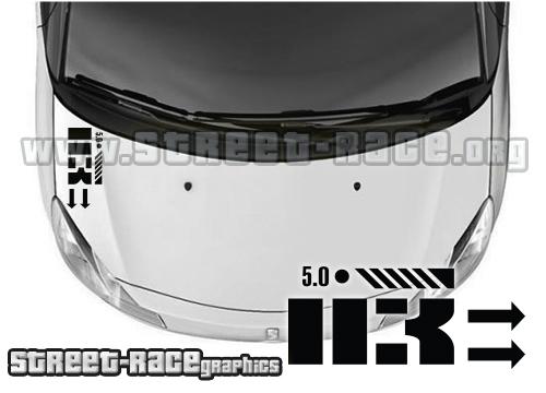 DS3 bonnet / dashboard decals