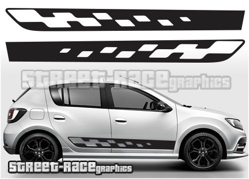 Renault / Dacia Sandero side graphics