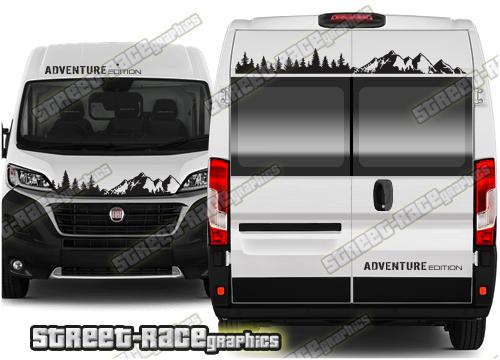 Peugeot Boxer Campervan front & rear graphics