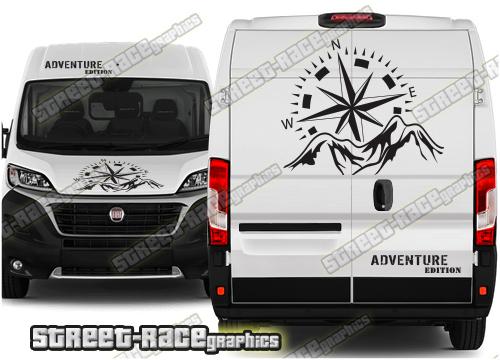 Citroen Relay Campervan front & rear graphics