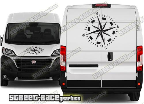 Fiat Ducato Campervan front & rear graphics