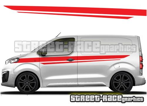 Peugeot Expert van side graphics