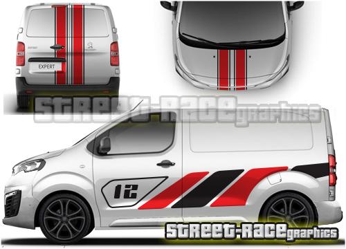 Peugeot Expert van FULL graphics kits