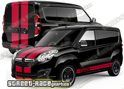 Fiat Doblo larger graphics