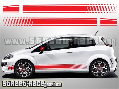 Fiat Punto side graphics