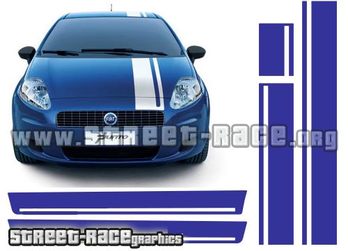 Fiat Punto roof/ bonnet / sides