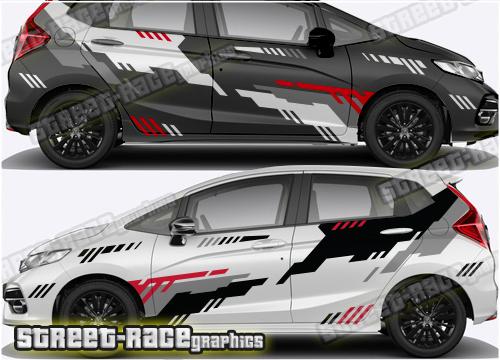 Honda Jazz Racing & Rally graphics
