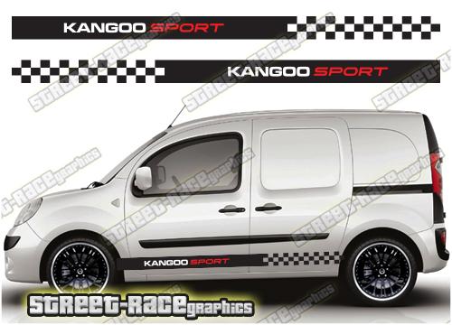 Renault Kangoo side stripes