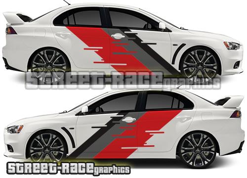Mitsubishi Lancer rally kits