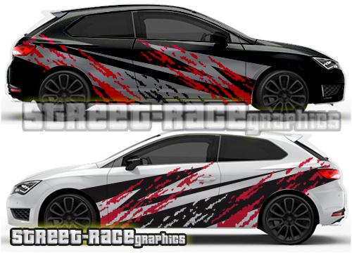 Seat Leon rally / Racing graphics