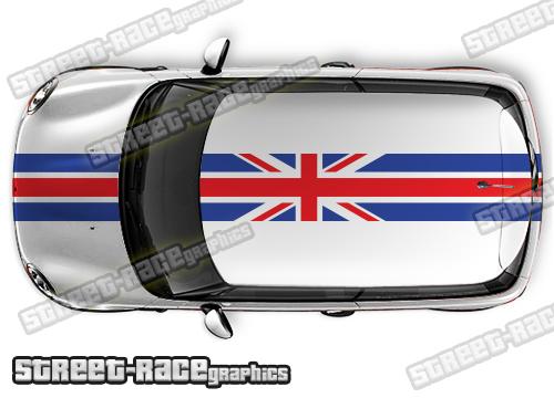 Mini OTT racing stripe graphics kits
