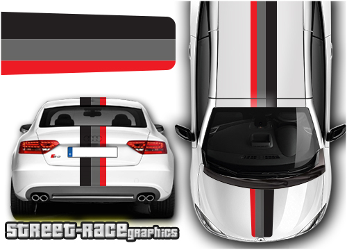 Audi OTT racing stripes