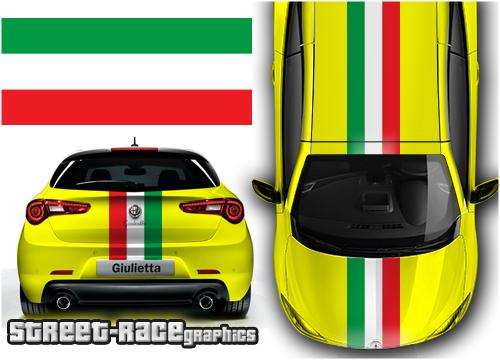 Alfa OTT racing stripes