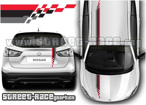 Nissan 'OTT' stripes