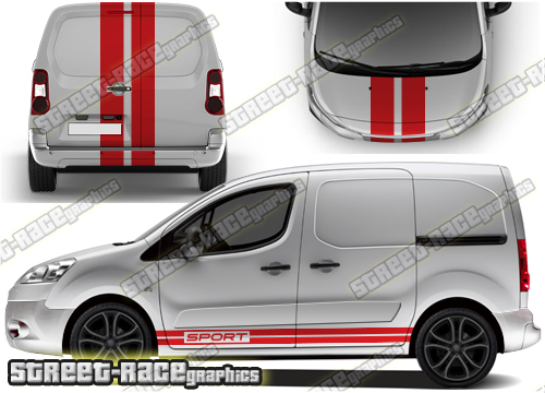 Peugeot Partner large graphics
