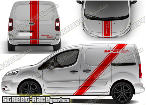 Vauxhall Combo large graphics