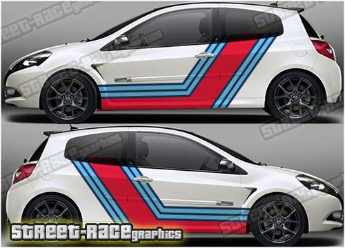 Renault Martini stripes