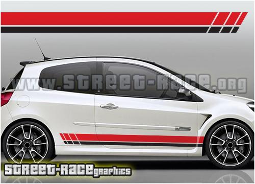 Renault side stripes