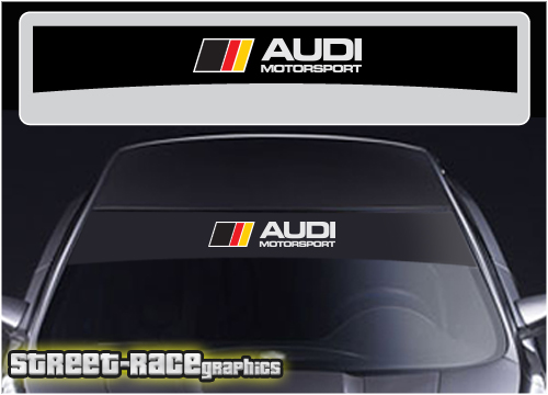 Audi sunstrips