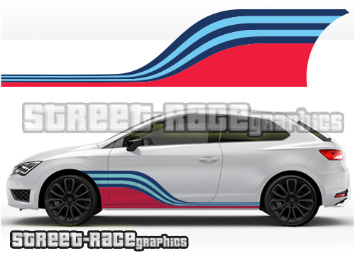 Seat Martini graphics