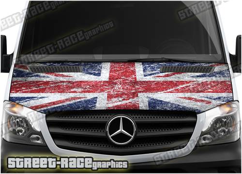 Mercedes Sprinter bonnet wraps