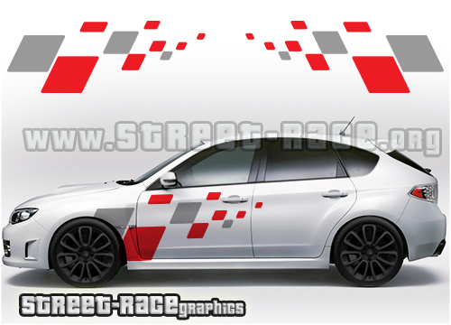 Impreza side graphics