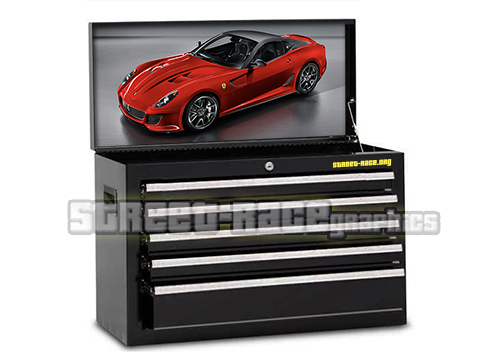 Supercars / Race cars toolbox prints