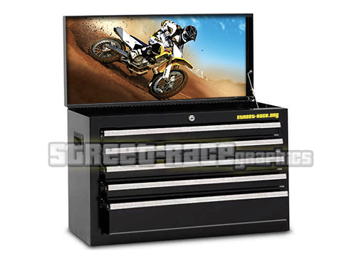 Motocross toolbox prints