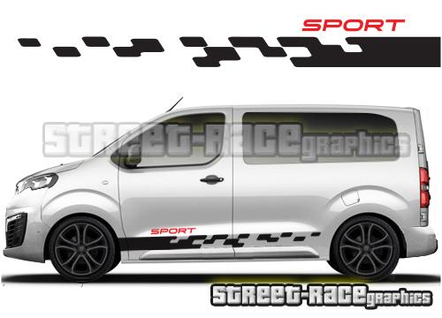 Toyota ProAce van side graphics