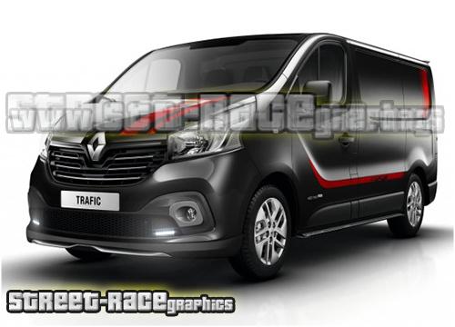 Renault Trafic FULL graphics kits