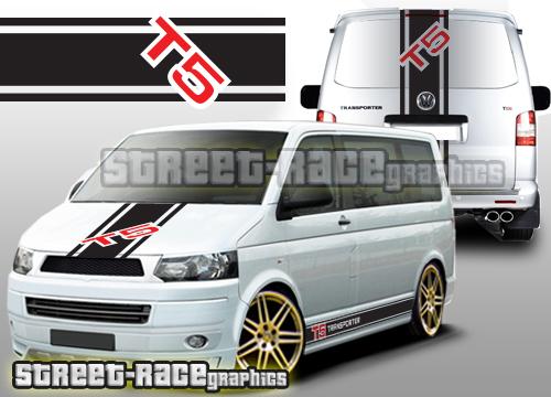 VW Transporter large graphics kits