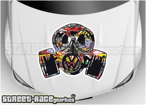 VW bonnet / hood graphics
