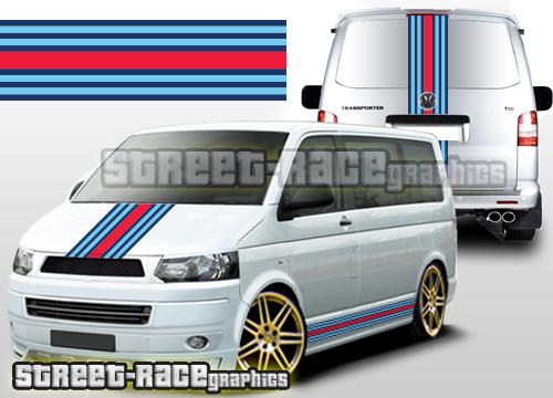 Volkswagen Martini Racing graphics