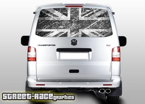 VW Transporter rear tailgate wraps