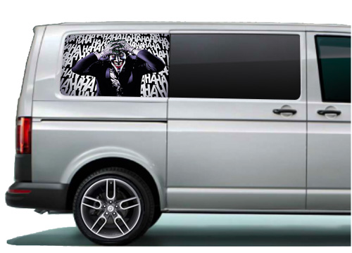 VW Transporter side panel wraps & stickers