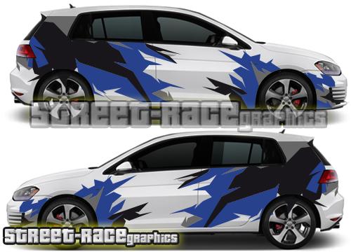 VW Golf / Polo Racing & rally graphics