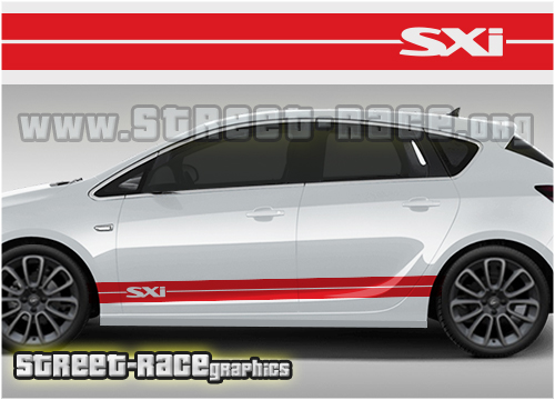 Vauxhall / Opel racing stripes