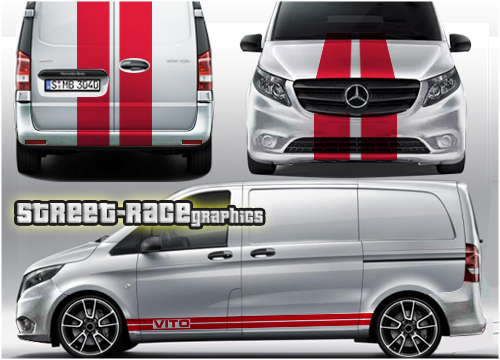 Mercedes Vito full graphics kits