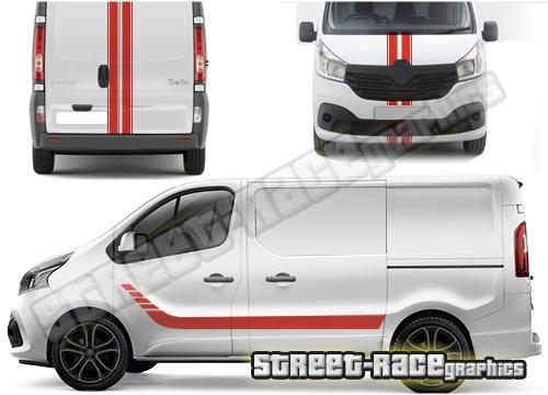 Vauxhall / Opel Vivaro van FULL graphics