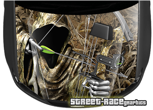 Hunting / Real Tree effect camouflage bonnet wraps